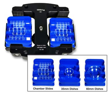 Hermle MPCA Microplate Carrier for Chamber Slides and Dishes, 2/PK