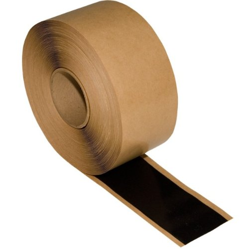 "3"" x 50' Roll Black EPDM Double Stick Seam Tape"
