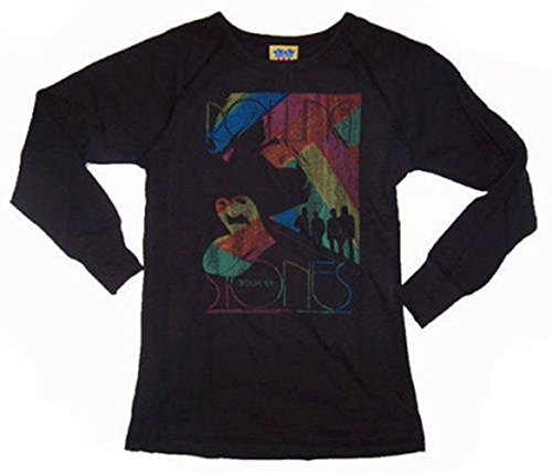 - Junk Food Girls The Rolling Stones Rainbow Thermal Long Sleeve Shirt (Tweens Large (10))