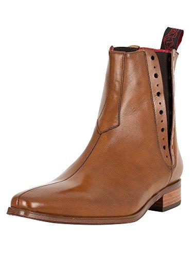 Jeffery West Men's Tequila Boots, Brown Brown