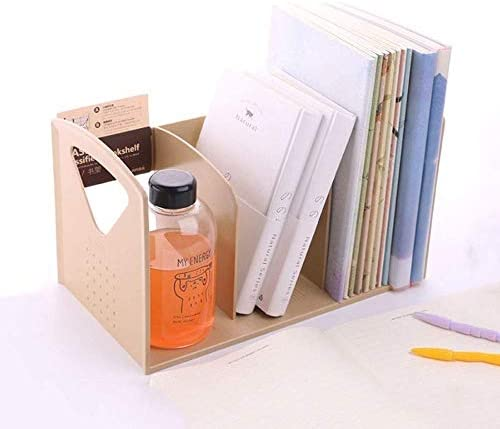 AGWa Datei-Racks/Akten-Halter, Magazine Datei Rack-Bücherregal Tragbarer Bücherregal stehend Akten-Halter Desktop Storage Simple Plastic für Office Studenten