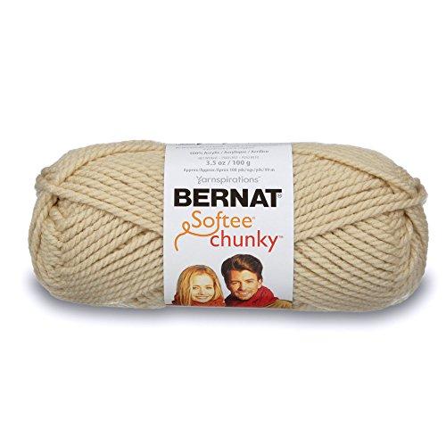 Bernat Softee Chunky Yarn, 3.5 Oz, Gauge 6 Super Bulky, ()