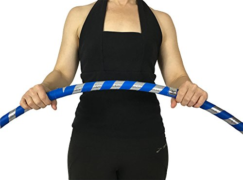 "Weighted Hula Hoop for Exercise and Fitness - 38"" Diameter Small Adult"