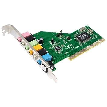 LogiLink PC0043 Tarjeta de Audio - Tarjeta de Sonido (PCI ...