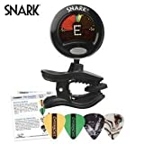Snark SN-5 Tuner for Guitar, Bass, Violin with ChromaCast Guitar Pick Sampler
