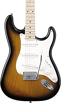Squier by Fender Affinity Left Hand Stratocaster - Brown Sunburst - Rosewood Fingerboard