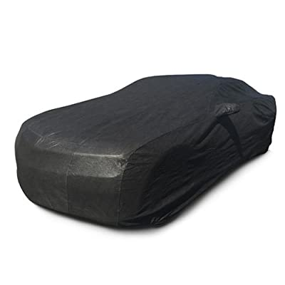 CarsCover Custom Fit 2010-2020 Chevy Camaro Car Cover for 5 Layer Ultrashield Black Covers : Automotive