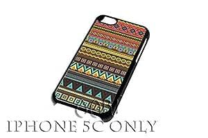 Retro Aztec iPhone 5C case / iPhone 5C Case - 4G AArt#181 -AT&T, Verizon & Worldwide Providers...