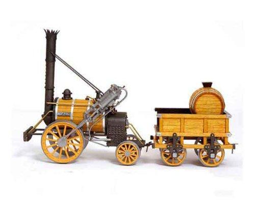 木製模型キット アークレー OC54000 蒸気機関車 ロケット号(ヨーク鉄道博物館レプリカ模型)和訳付き B009OZBWDQ