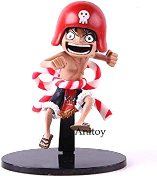 Amazon Com 19cm 7 5 Inch One Piece Pvc Figure Monkey D