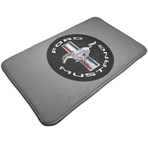 (KLA2000 Mustang GT Carpets Home Door Mats Anti Slip Entrance Rugs Doormats,19.5X31.5 Inch)