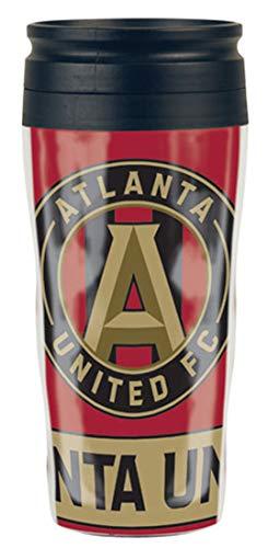 Wincraft Atlanta United Travel Mug, 16 oz with Slider - 16 Oz United Mug Travel