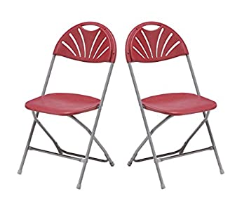 2 x Silla de jardín silla plegable silla de camping silla de ...