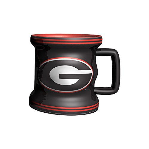 NCAA Georgia Bulldogs Sculpted Mini Mug, Size 2.5, - Website Mall Georgia Of