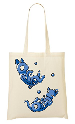 Cute Provisions À Playing Cats Adorable Tout Sac Water Fourre Sac zrOpz