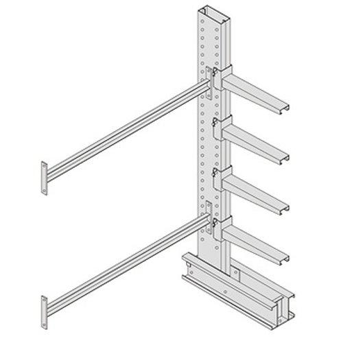 Meco Rack (Meco Omaha ADU10 Series 4000 Heavy Duty Double Sided Cantilever Rack Add-On Unit, 10