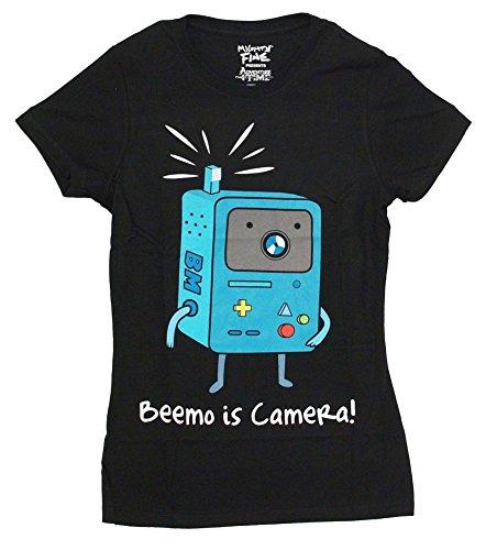 Homme Adventure Time Manches T Noir Courtes shirt RfCqR