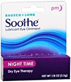 Bausch + Lomb Soothe Lubricant Eye Ointment, Night Time, 1/8 oz