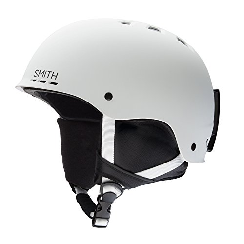 Smith Optics Unisex Adult Holt Snow Sports Helmet - Matte White Large (59-63CM)
