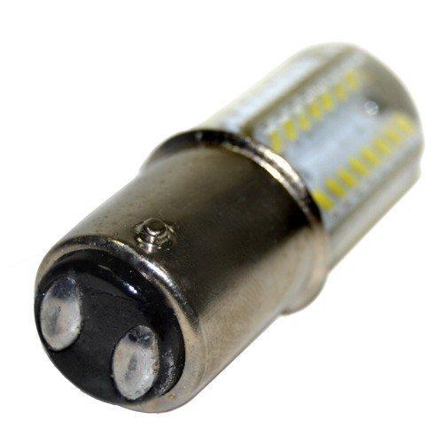 1472//1473 1475//4240 HQRP 2-Pack 110V LED Light Bulbs Warm White for Pfaff 1371//1467 4250//4260 Sewing Machine Plus HQRP Coaster 1469//1471