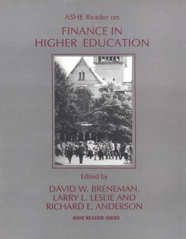 Ashe Reader on Finance in Higher Education (Ashe Reader Series)