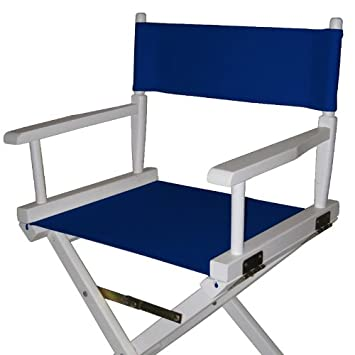 Casual Home Director Chair Replacement Canvas, Navy Blue