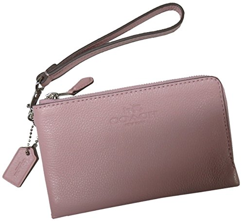 Coach F53429 Wristlet Crossgrain Leather