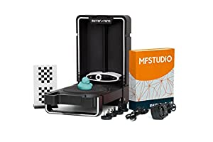 Matter and Form 3D Scanner V2 +Quickscan - MFS1V2, Black