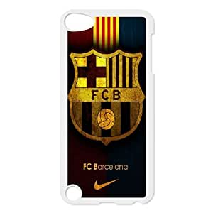 FC barcelona_001 For ipod 5 Cell Phone Case White pu1m0h_7591615