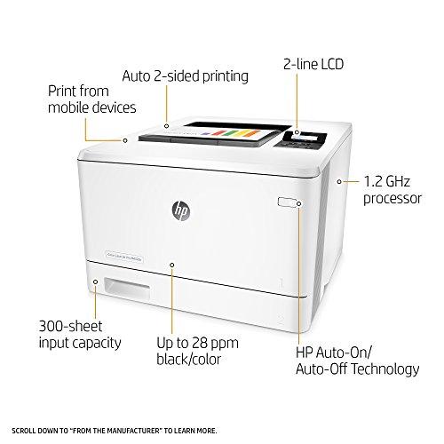 HP Laserjet Pro M452dn Color Printer, (CF389A) by HP (Image #1)
