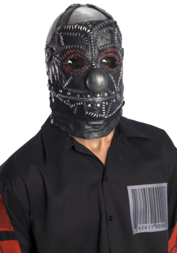 Rubie's Costume Slipknot Clown Mask, Black, One Size]()