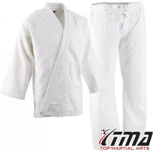 Drawstring Heavyweight Uniform - TMA 12 oz Extra Heavyweight Brushed Cotton Drawstring Uniform Karate Gi (6)