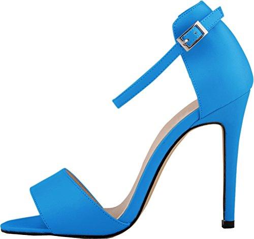 Salabobo - Zapatos con tacón mujer Azul