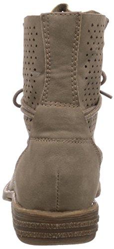 Jane Klain 251 129 - botas desert de material sintético mujer, color beige, talla 41