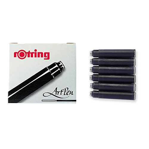 rOtring Fountain Pen, ArtPen, Replacement Ink Cartridges, (Art Fountain)