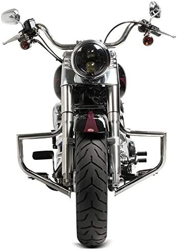 Paramotore per Harley Davidson Fat Boy 00-17 Craftride ST2 cromo
