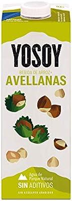 Yosoy - Bebida de Arroz con Avellanas - Caja de 6 x 1L: Amazon.es: Alimentación y bebidas