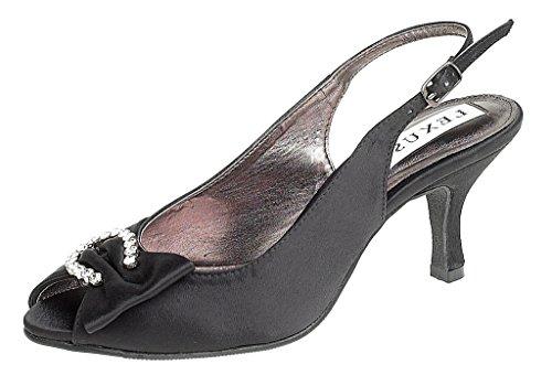 LEXUS Z027-NADYA - Zapatos de vestir para mujer negro - negro