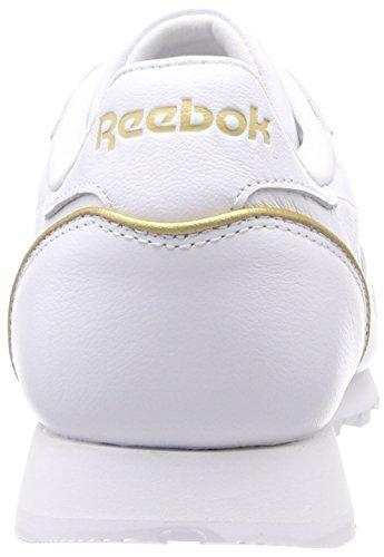 Femme LTHR EU de Cl Chaussures Hw Running Gold Cassé Whiterose Rose Blanc Reebok 36 Whiterose Gold Yn1wxAA