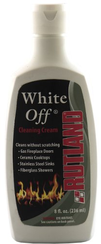 Rutland 1/2-Pint White-Off Glass Cleaner, 8 Fluid Ounce