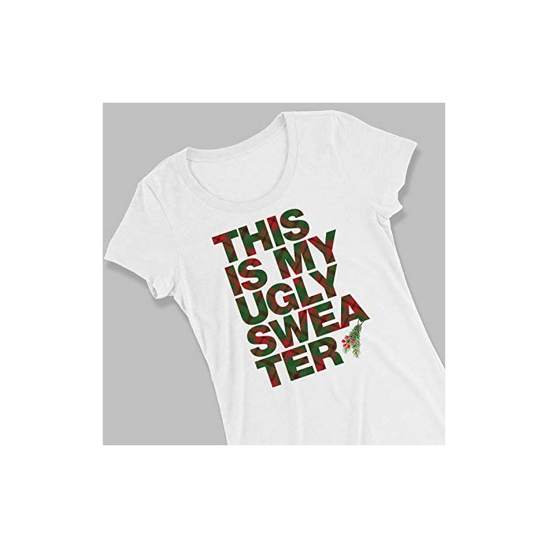 "Avery T-Shirt Transfers for Light Fabric, 8.5"" x 11"", 18 Transfers - Make your Own Christmas Shirt (8938)"