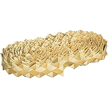 "Planet Pleasures Shredders Zig Zag 30' by 1"" Roll Natural Bird Toy"