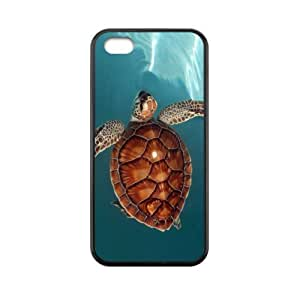 Custom SB.AO Case for super shining day Best Sea Turtle iPhone 5C Back Covers With TPU Material Material