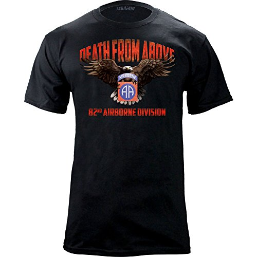 Original Airborne Death Graphic T Shirt