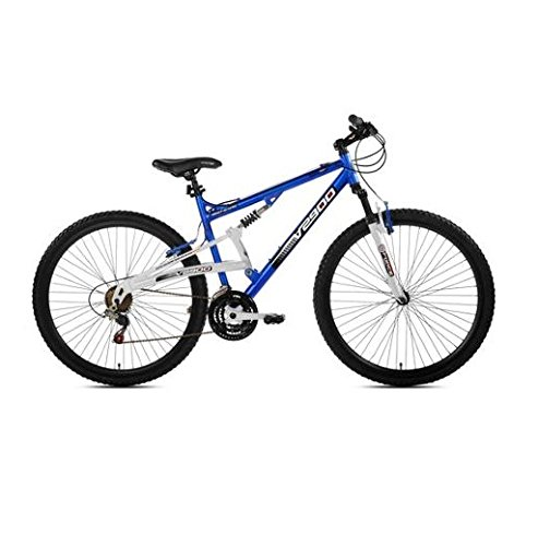 "29"" Genesis V2900 Men's Mountain Bike, Blue/White"