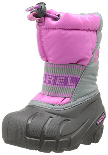 Sorel Toddler Cub Winter Boot , Very Berry/Razzle, 7 M US To