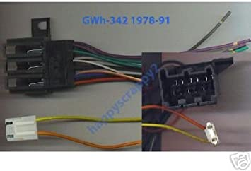 amazon.com: stereo wire harness chevy pickup 84 85 86 87 (car radio wiring  installation p.: automotive  amazon.com
