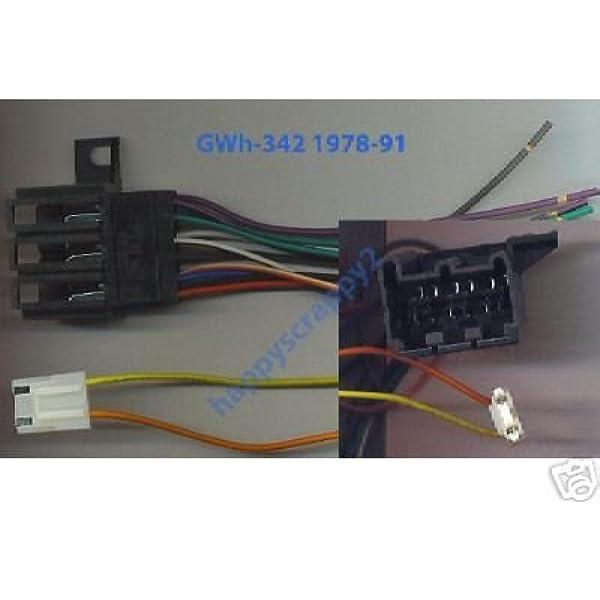 Amazon.com: Stereo Wire Harness Chevy Pickup 84 85 86 87 (car Radio Wiring  Installation p.: AutomotiveAmazon.com