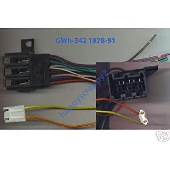 amazon com stereo wire harness chevy s10 pickup 82 83 84 85 86 car rh amazon com 95 S10 Wiring Diagram 2001 Chevy S10 Wiring Diagram