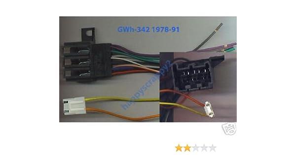 amazon com: stereo wire harness pontiac fiero 84 85 86 87 88 (car radio  wiring installati : automotive